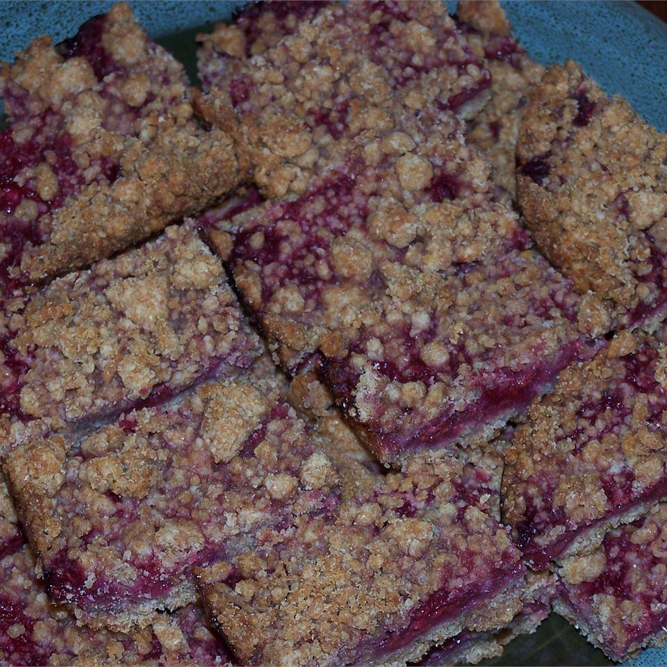Berry Crumb Bars