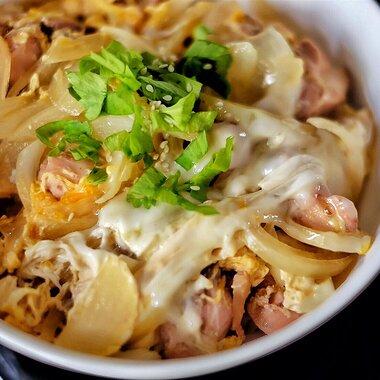 oyakodon japanese chicken and egg rice bowl recipe