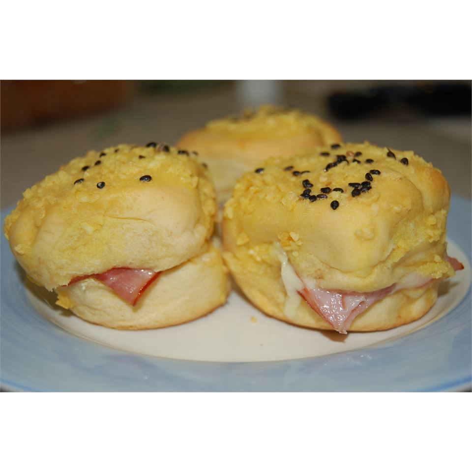 Mini Ham And Cheese Rolls
