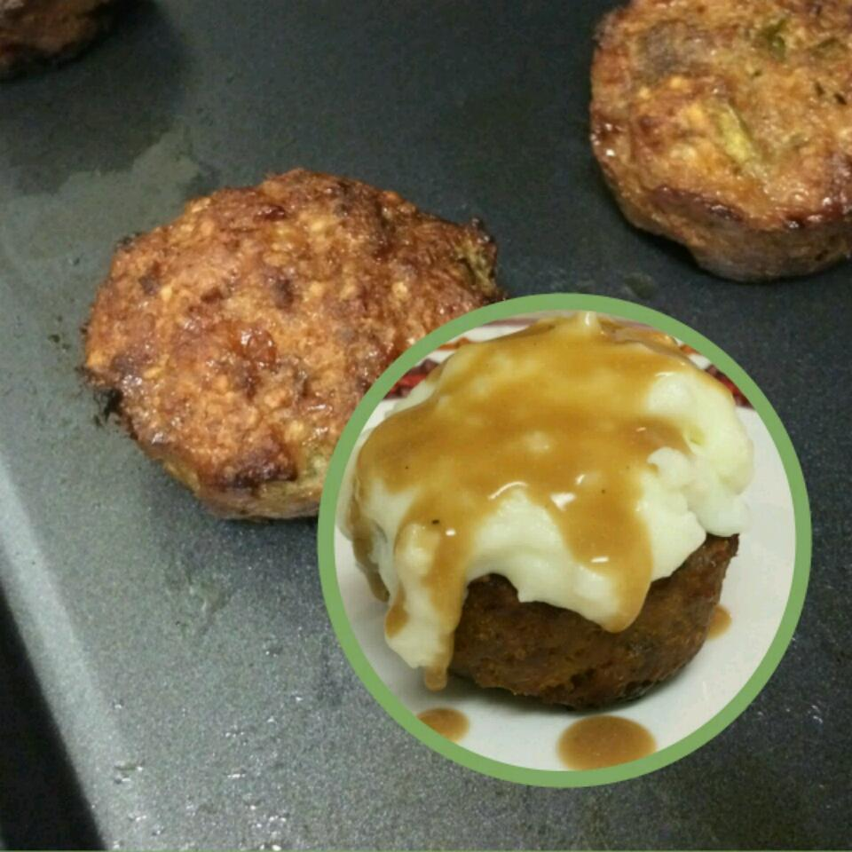 Meatloaf Cupcakes Jessi LeAnn Davidson