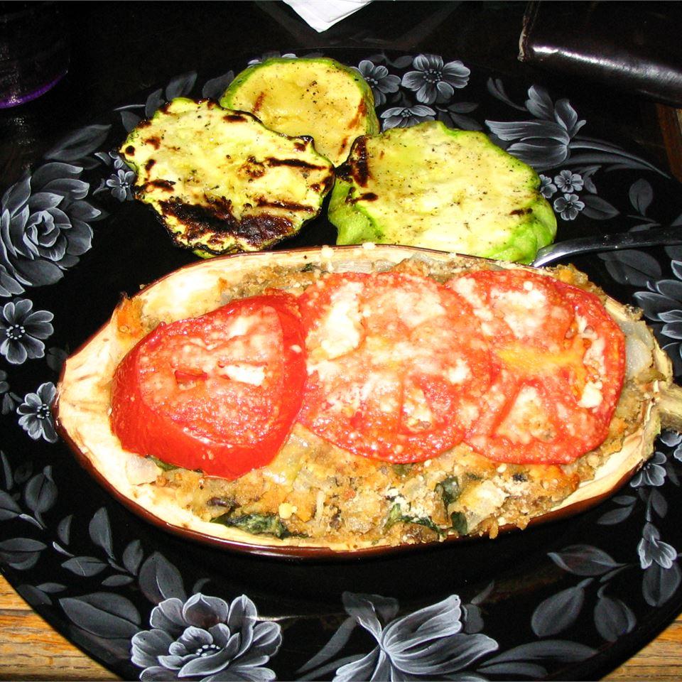Aunt Eileen's Stuffed Eggplant Amber Pawlicki