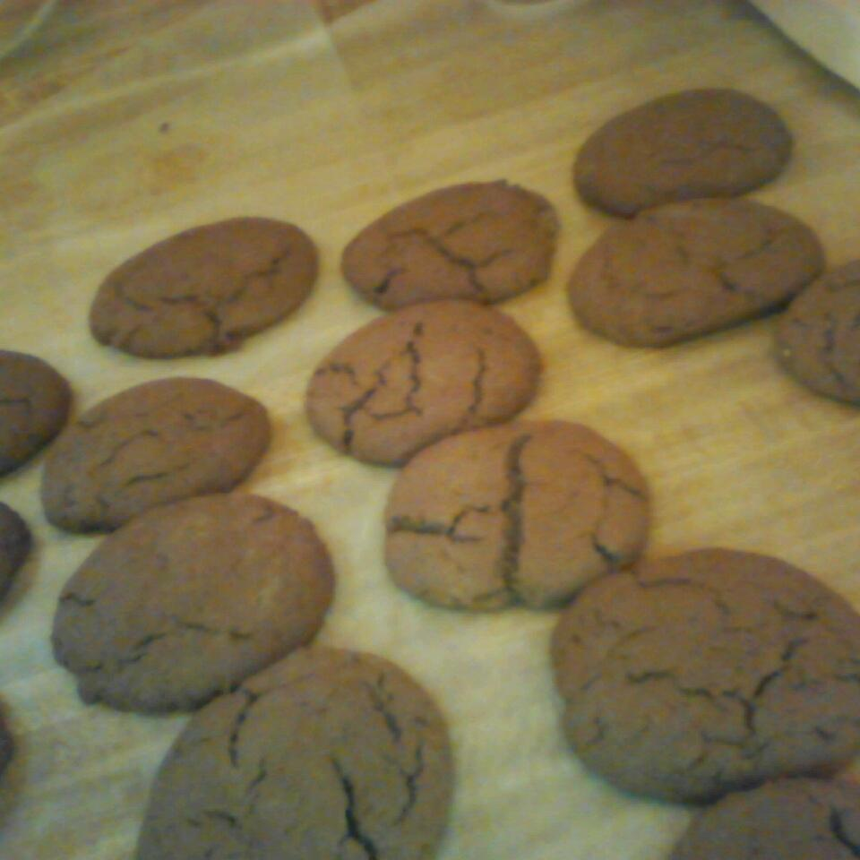 Eggless Chocolate Peanut Butter Cookies