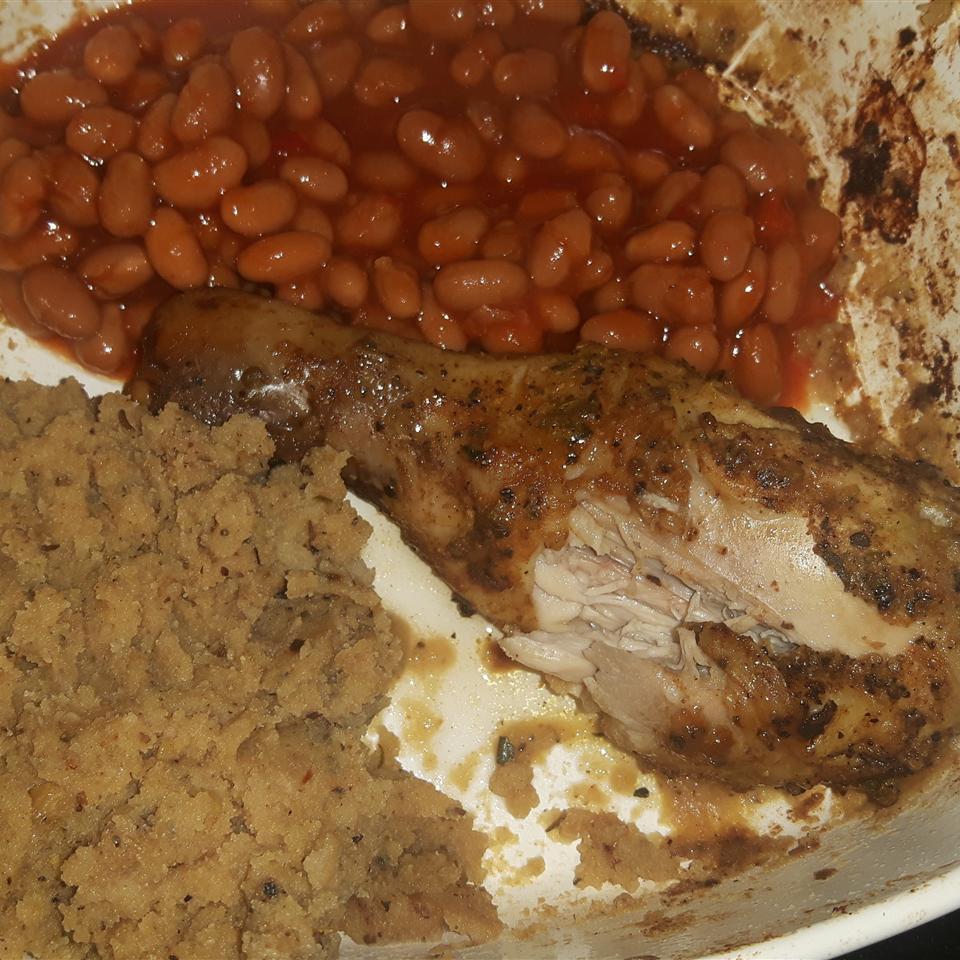 Oven BBQ Chicken Drumsticks