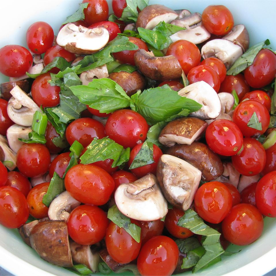 Byrdhouse Marinated Tomatoes and Mushrooms Wyattdogster