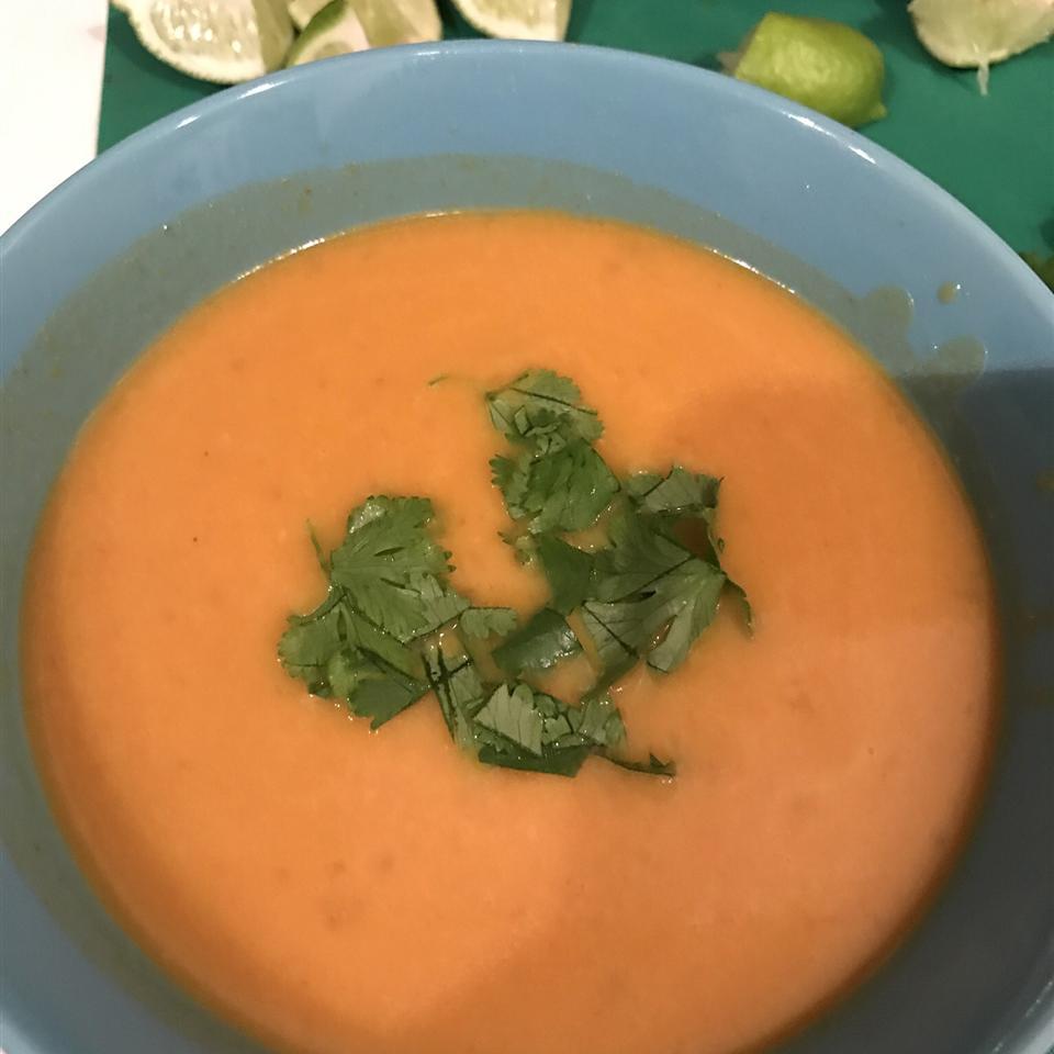 Asian Kabocha Soup