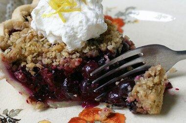 blueberry crumb pie recipe