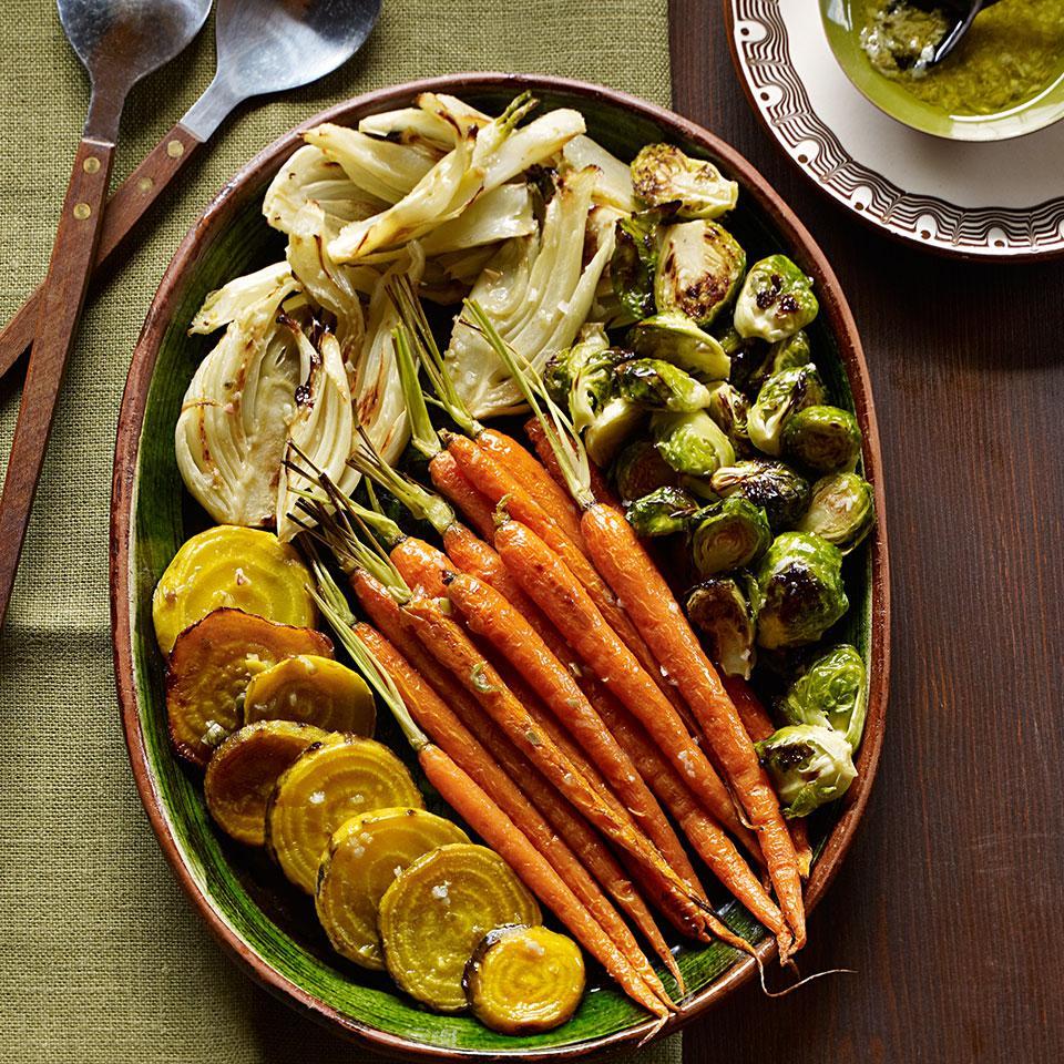 Roasted Vegetable Antipasto EatingWell Test Kitchen