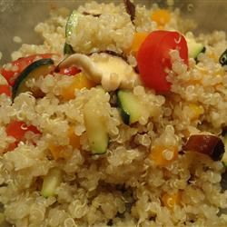 Quinoa with Chickpeas and Tomatoes Stef~W~an~F