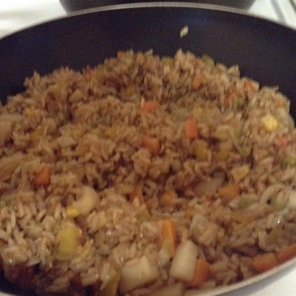 Vegetable Fried Rice Natou