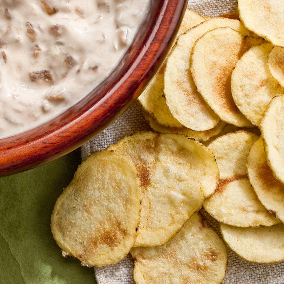 Microwave Potato Chips EatingWell Test Kitchen