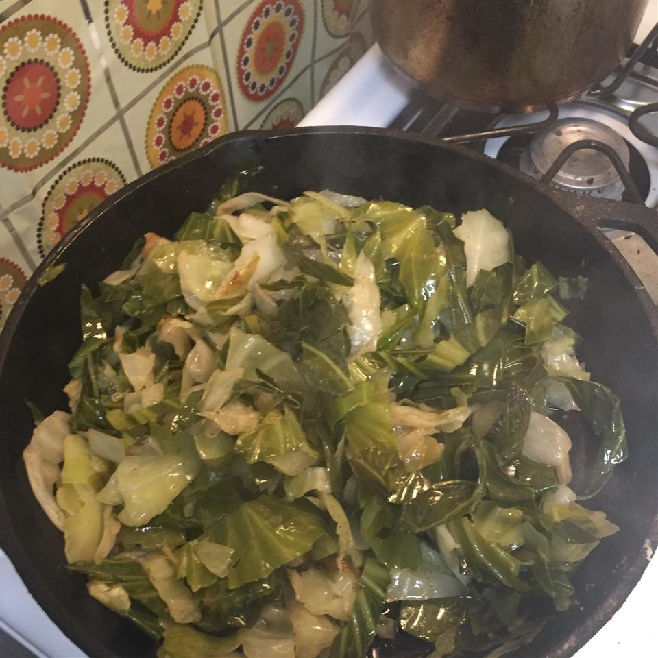 Sauteed Cabbage ronicared