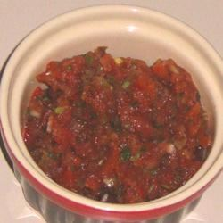 Jen's Fresh and Spicy Salsa