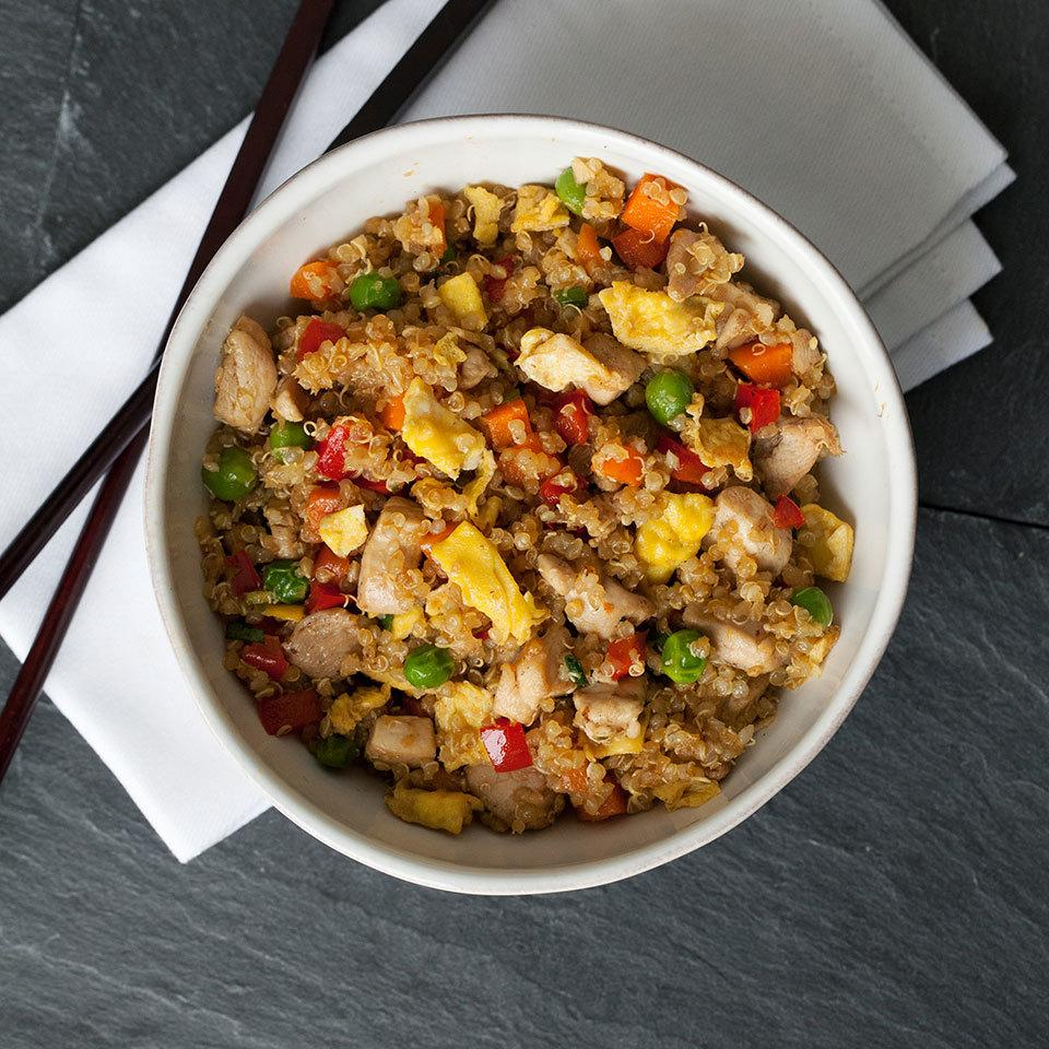 Chicken Quinoa Fried Rice Trusted Brands