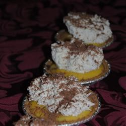 Chocolate Pudding Pie Mrs. CJR