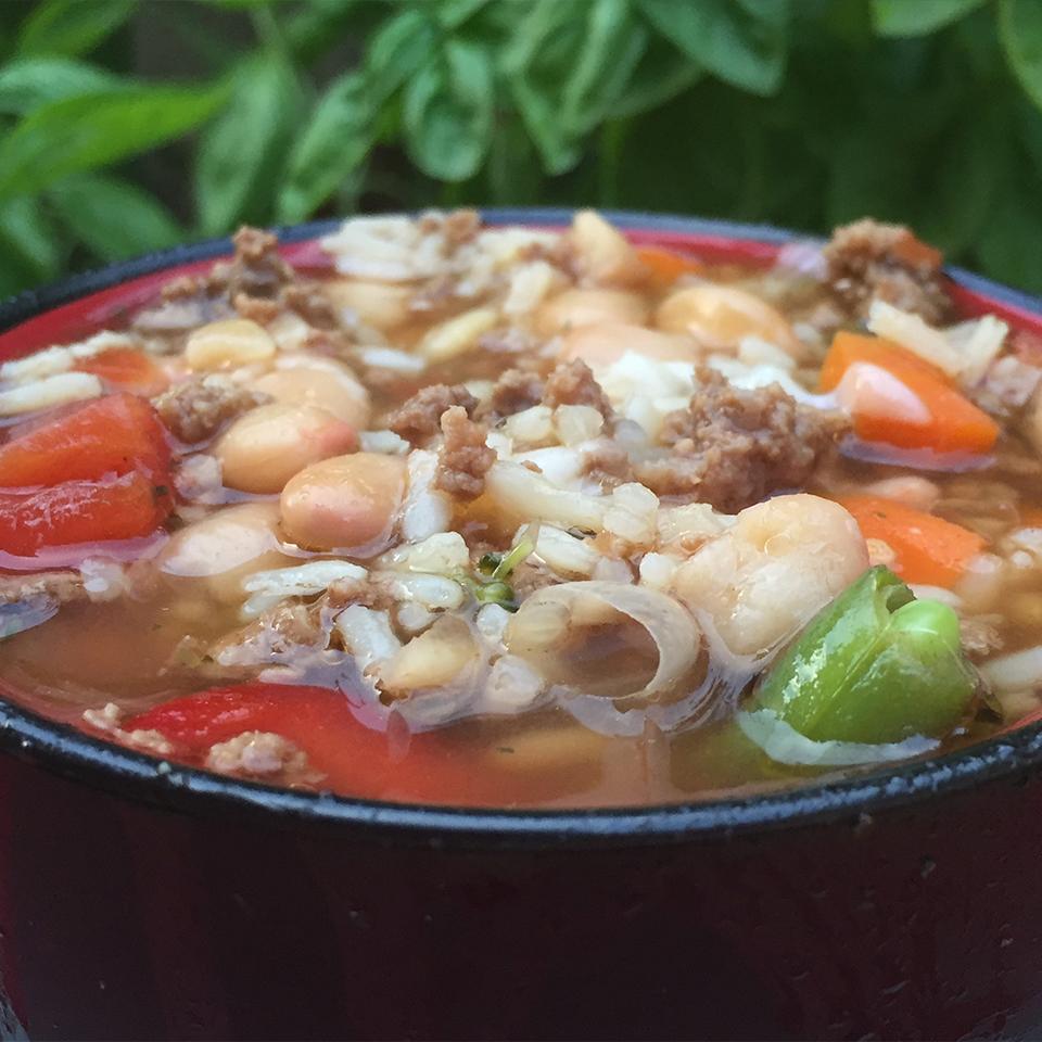 Quick Italian Rice Soup