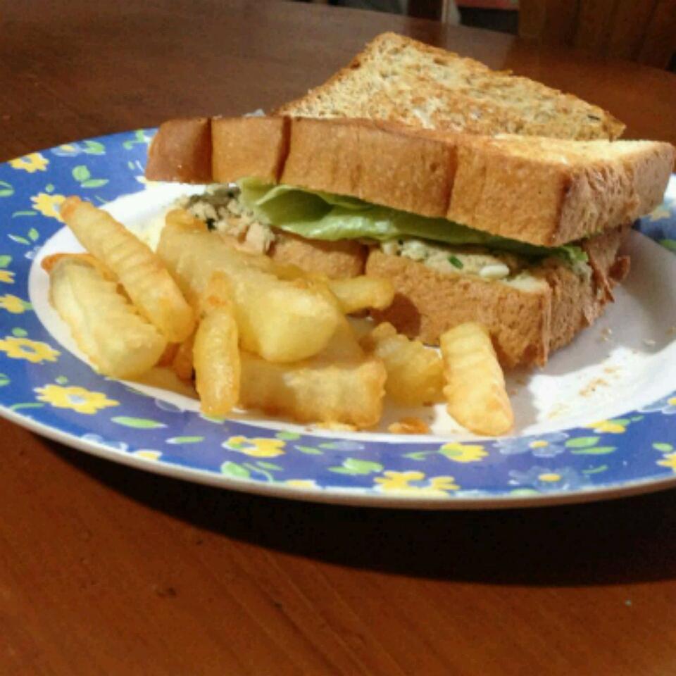 Tuna Egg Sandwich Christien Zhang