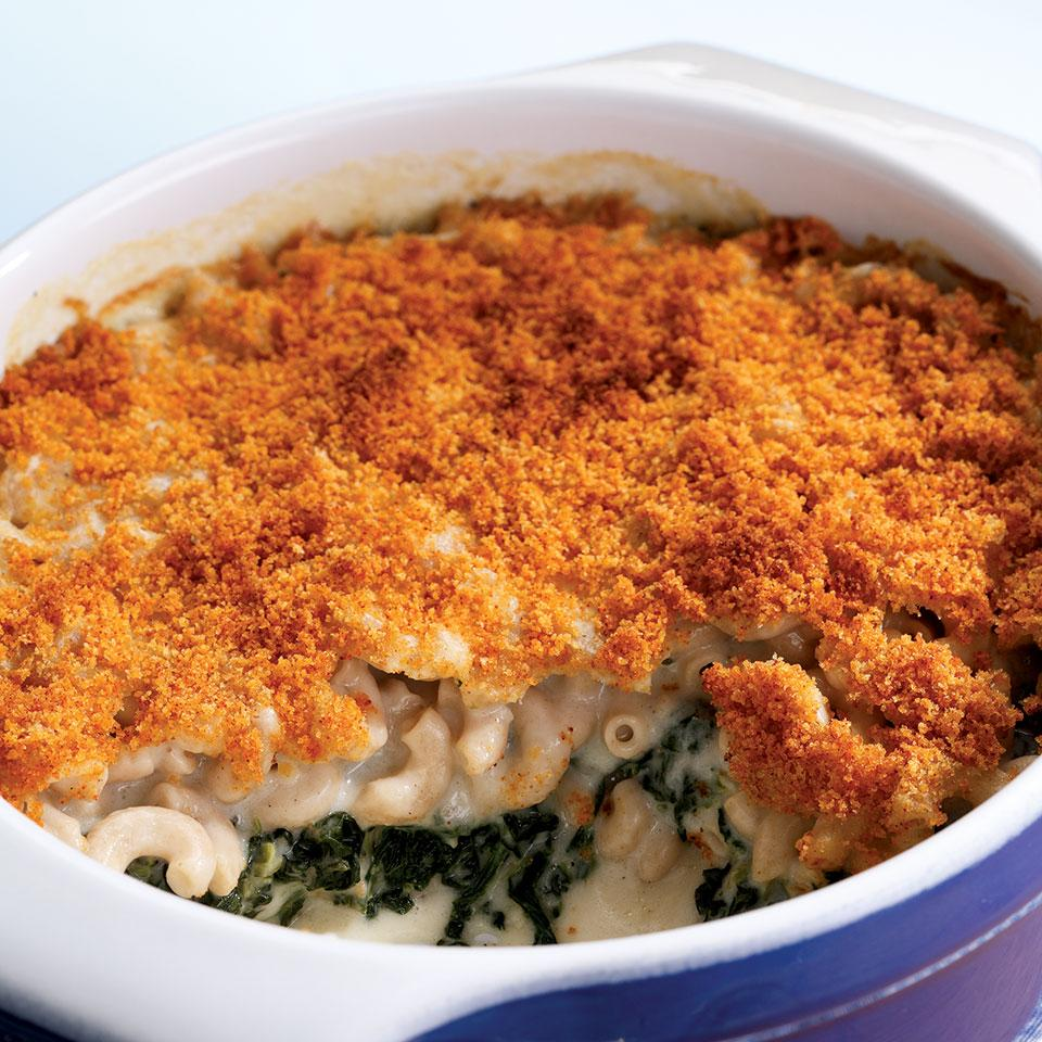 Baked Mac & Cheese EatingWell Test Kitchen