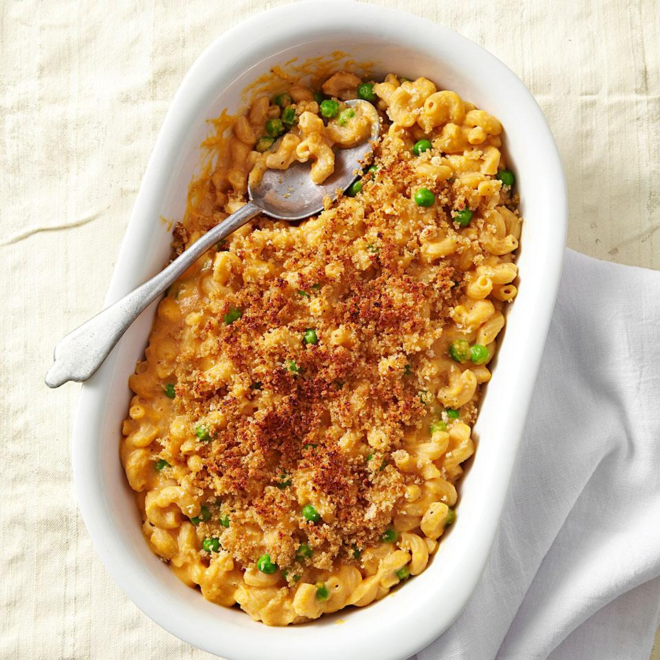 Sweet Potato Mac & Cheese EatingWell Test Kitchen