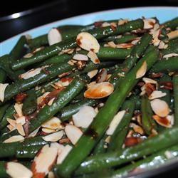 Toasted Almond Green Bean Salad Pam Ziegler Lutz