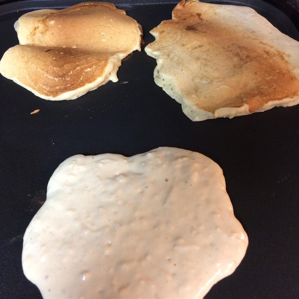 Apple Yogurt Pancakes