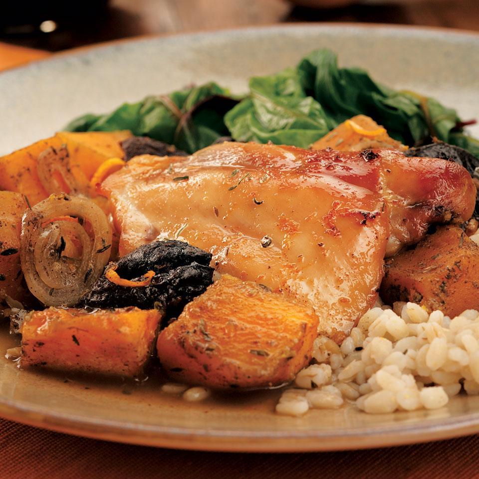 Winter Squash & Chicken Tzimmes EatingWell Test Kitchen
