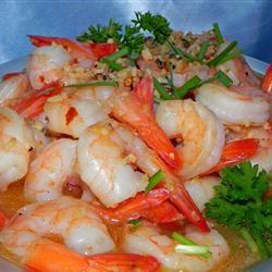 Sizzling Sherry Shrimp with Garlic Soup Loving Nicole