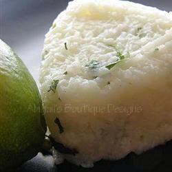Cilantro-Lime Rice Robyn