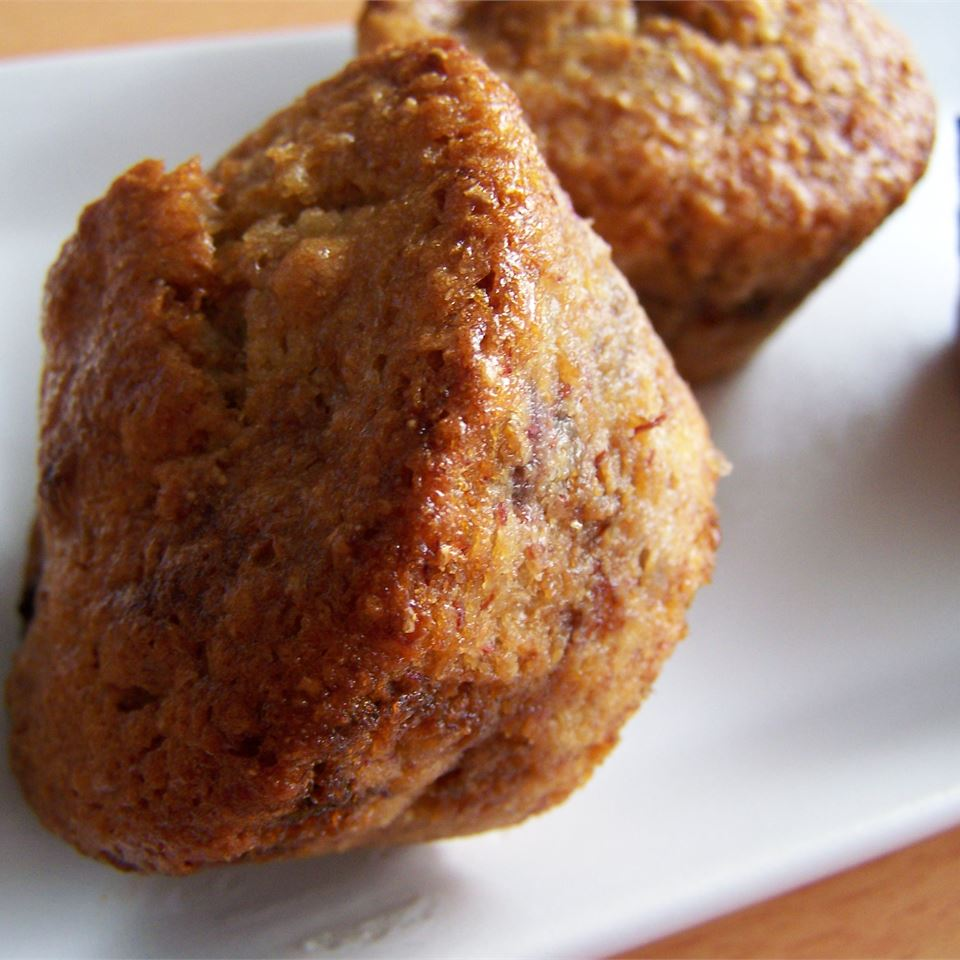 Vegan Banana Blueberry Muffins ASTROPHE