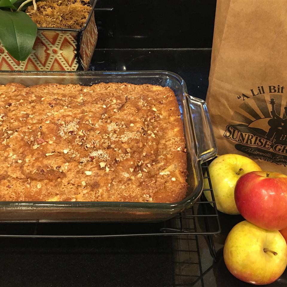 Mom's Prize Winning Raw Apple Cake Susan Holmes