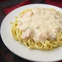 Easy Seafood Fettucini