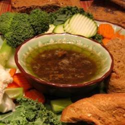 Bagna Calda (Italian Garlic-Anchovy-Sardine Appetizer)