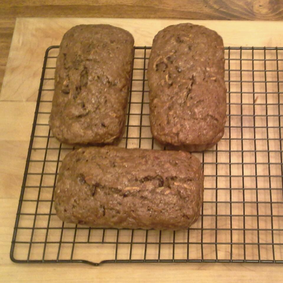 Chocolate Zucchini Bread II Penni Foor