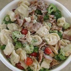 Tortellini Bacon Broccoli Salad
