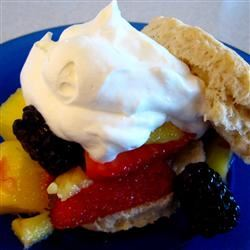 Summery Lime-Mango Shortcakes Mrs.Williams