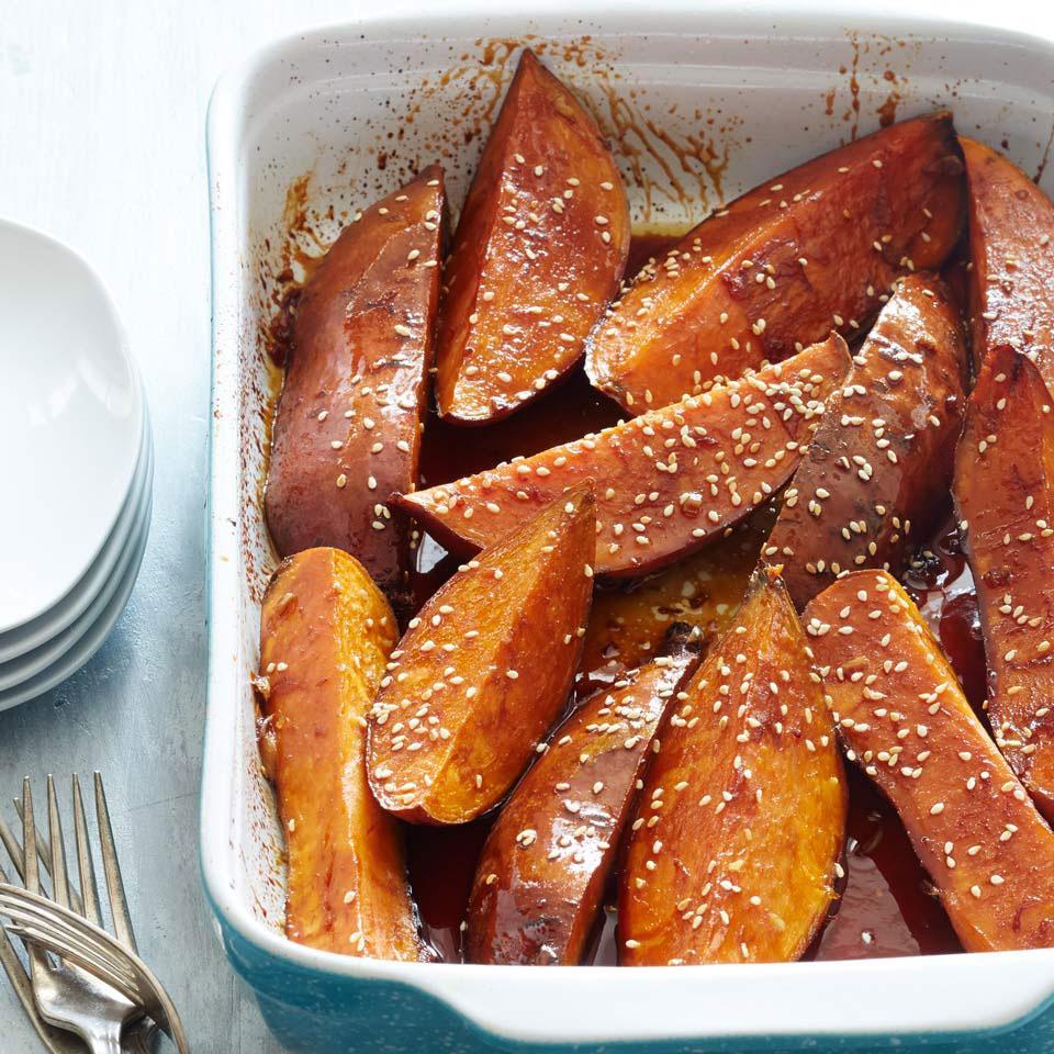 Soy-Glazed Sweet Potatoes Deborah Madison