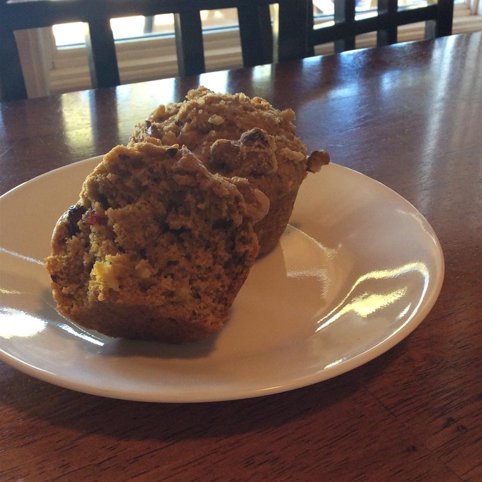 Pumpkin Apple Muffins Fajeeta