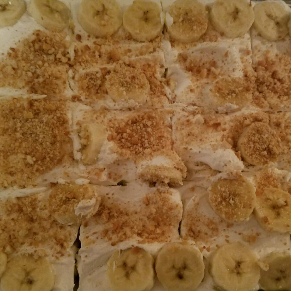 Easy Banana Pudding Cake Rebecca Jammeh
