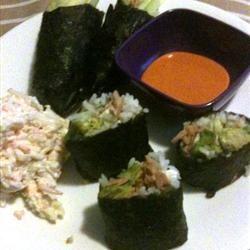 Spicy Tuna Sushi Roll Rory