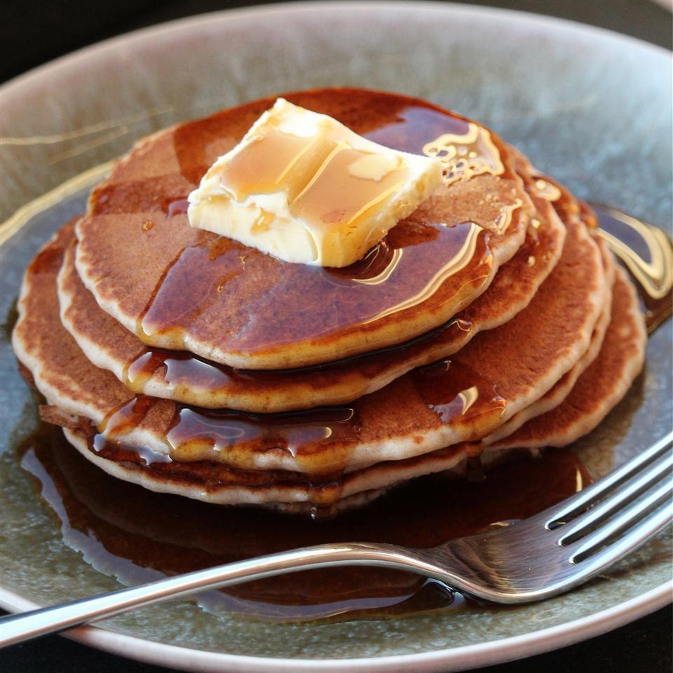Quinoa Buckwheat Pancakes