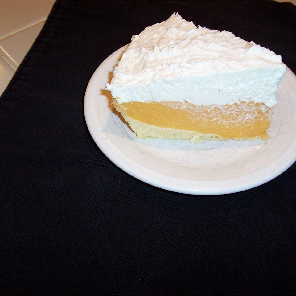 Cantaloupe Cream Pie II