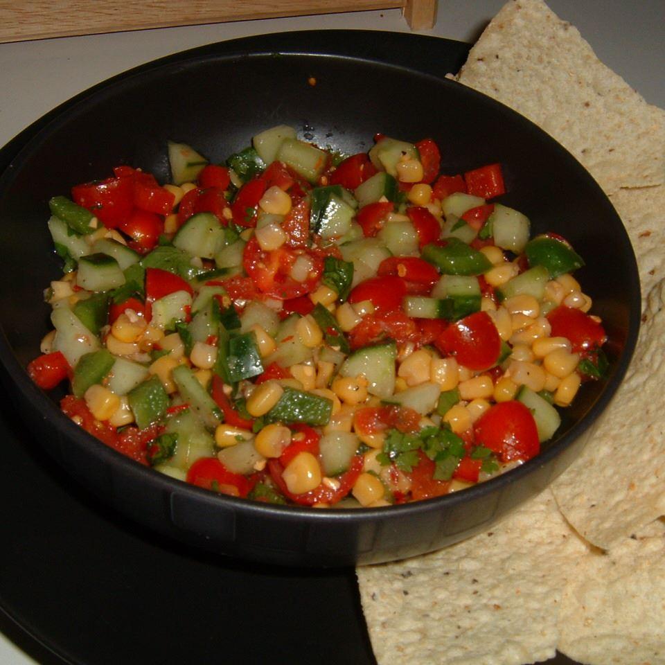 Mexican Cucumber Salad Caroline C