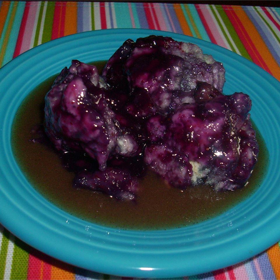 Bertha's Blueberry Dumplings image