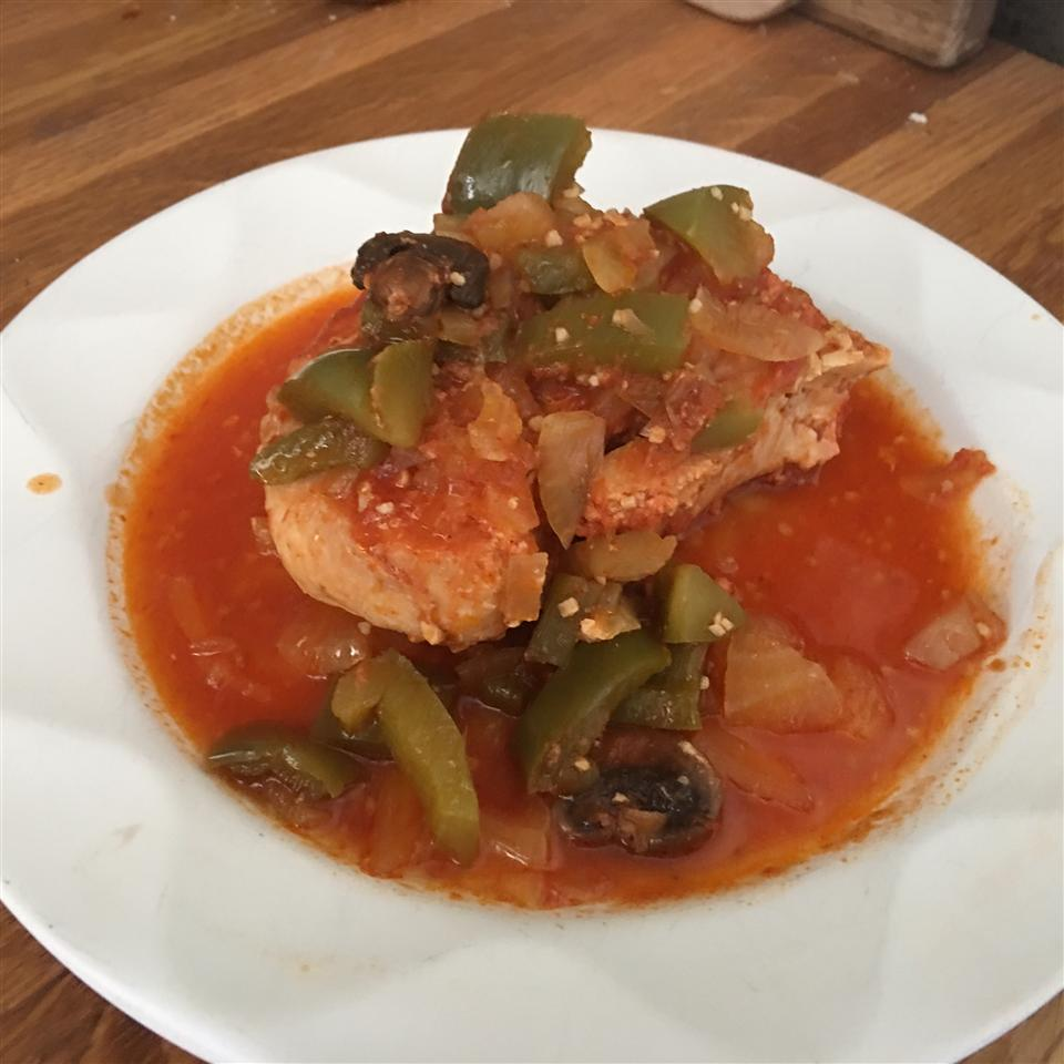 Slow Cooker Chicken Cacciatore Paul Young