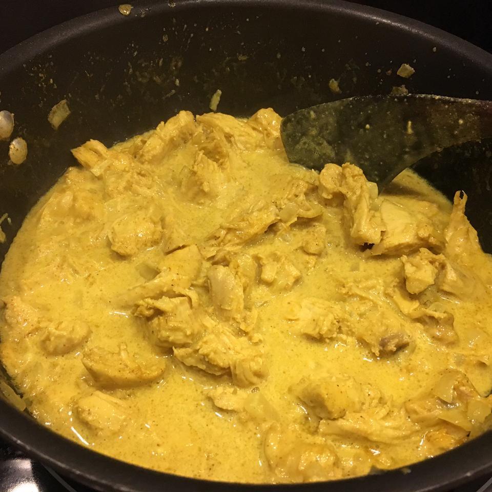 Maple-Curry Chicken