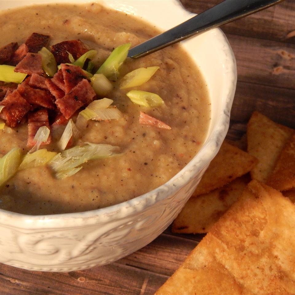 Low-Carb Faux Potato Soup Linda T