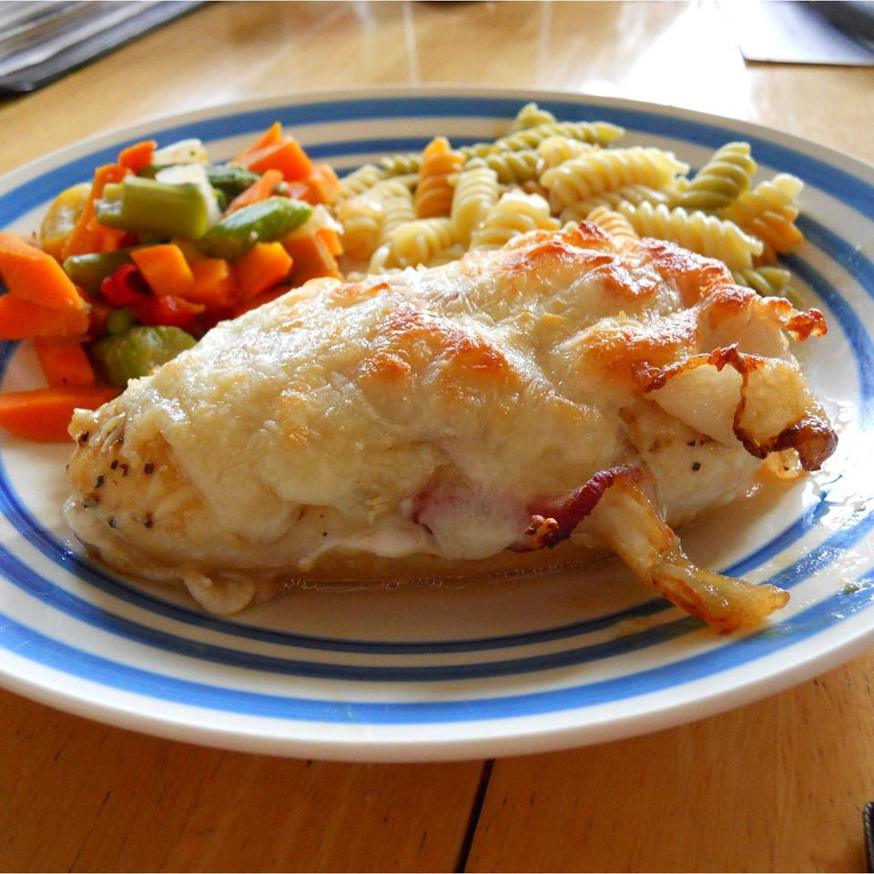 Easy Honey Mustard Mozzarella Chicken SARAHBEA