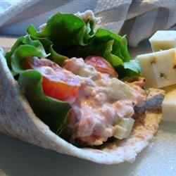 Salmon Salad Gitano