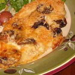 Mushroom Chicken Parmesan Pat Donahue