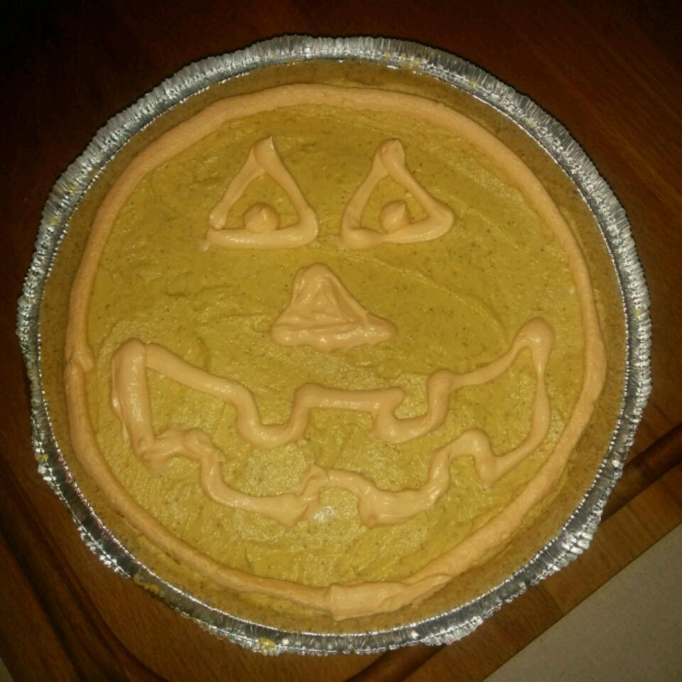 No-Bake Pumpkin Cheesecake Pie Angela Robineau