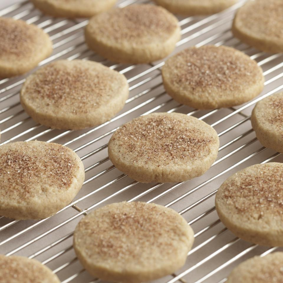 "This variation of a classic sugar cookie is made using coconut oil for a moist result. Simply mix, bake, and enjoy! ""Will definitely make again. These are rich and decadent cookies. I'm usually a shortbread girl using all butter. But this half and half ratio with virgin organic unrefined coconut oil and butter is a big difference to me,"" says reviewer Jaynie Powers. ""Smells great and tastes yummy! So now I'm going to dip them in some shiny royal icing!"""